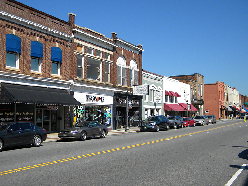 Downtown Mooresville Wisdom Stikeleather Real Estate In